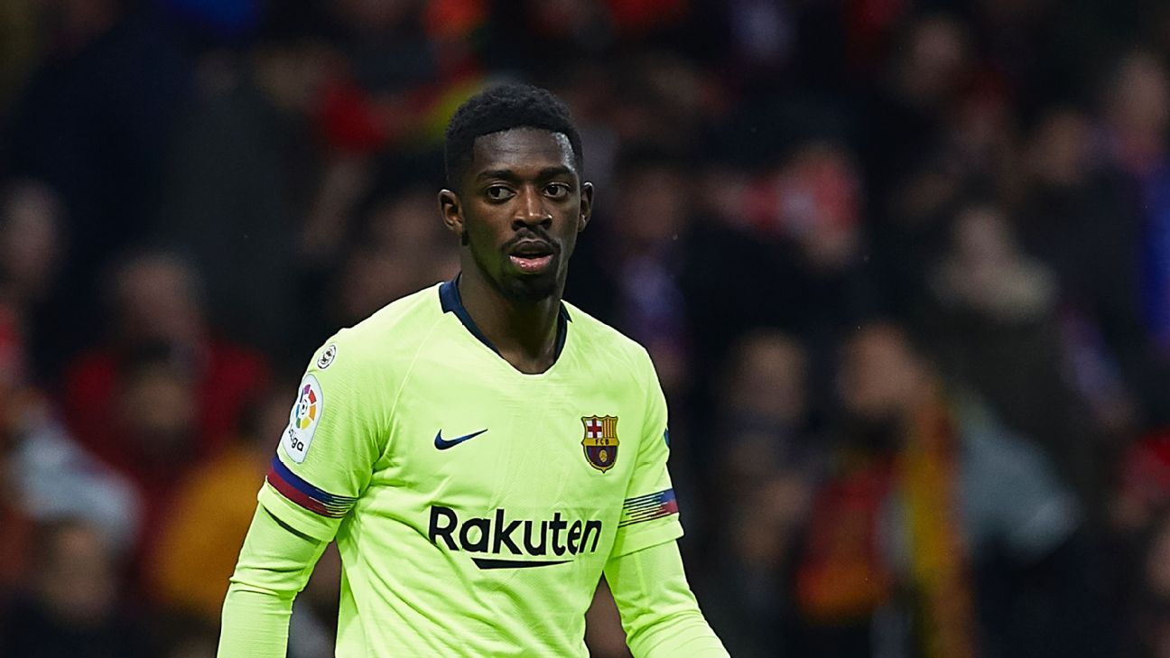 Barca security sent to find Ousmane Dembele after he was two hours late for training - sources