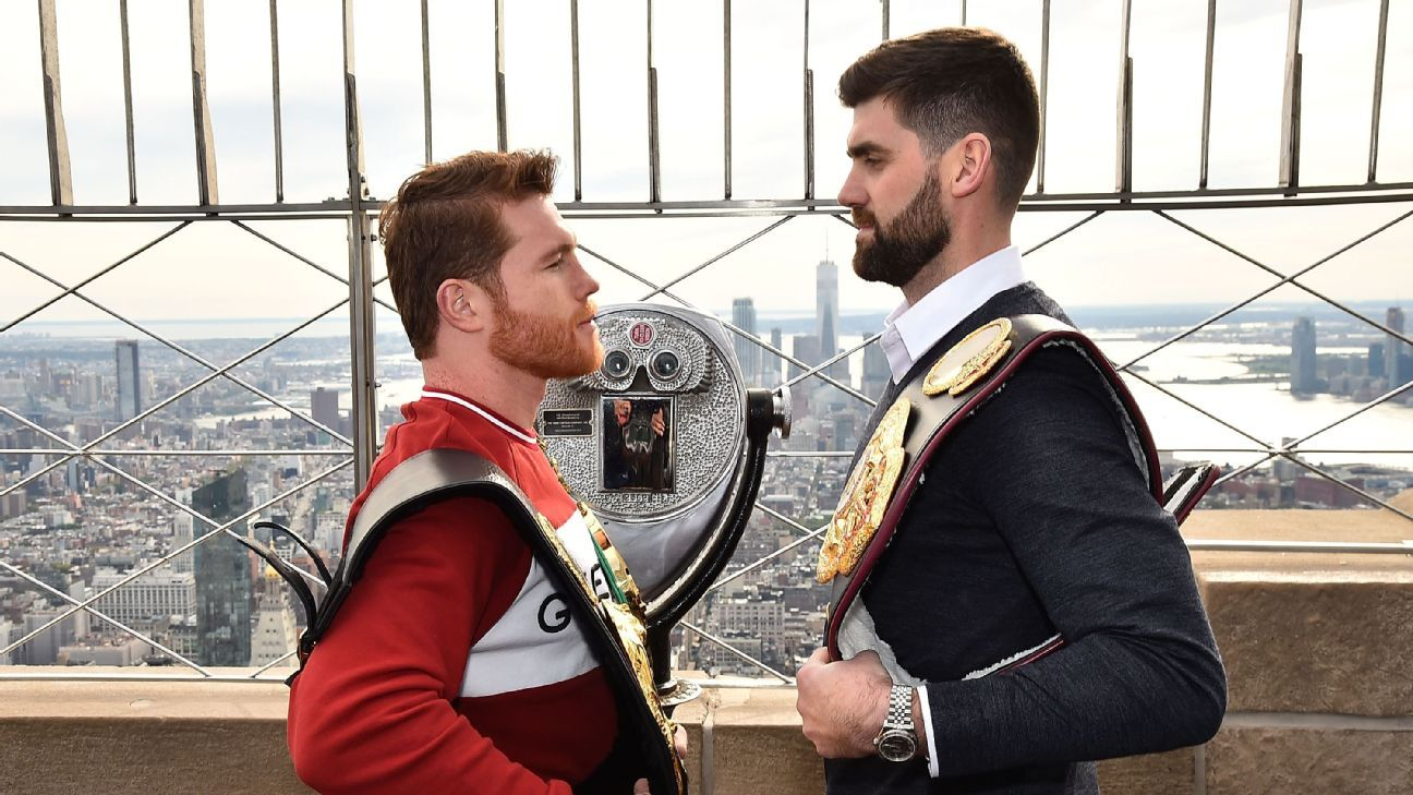 Rocky Fielding confident he can 'shock the world' against Canelo Alvarez