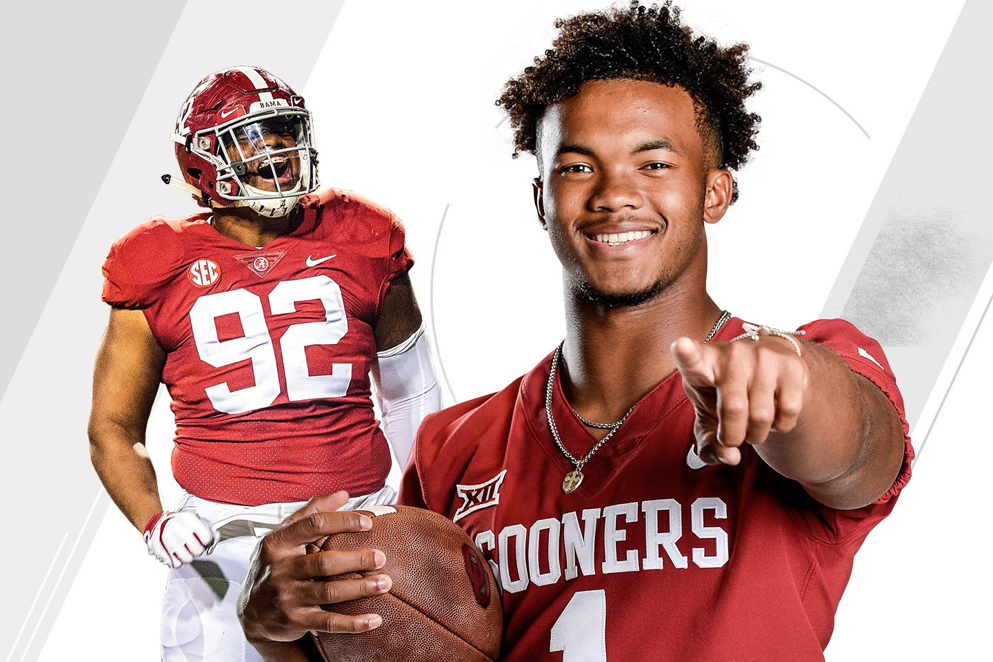 Kyler Murray and Quinnen Williams lead this year's college football All-America team. Who else made the cut?