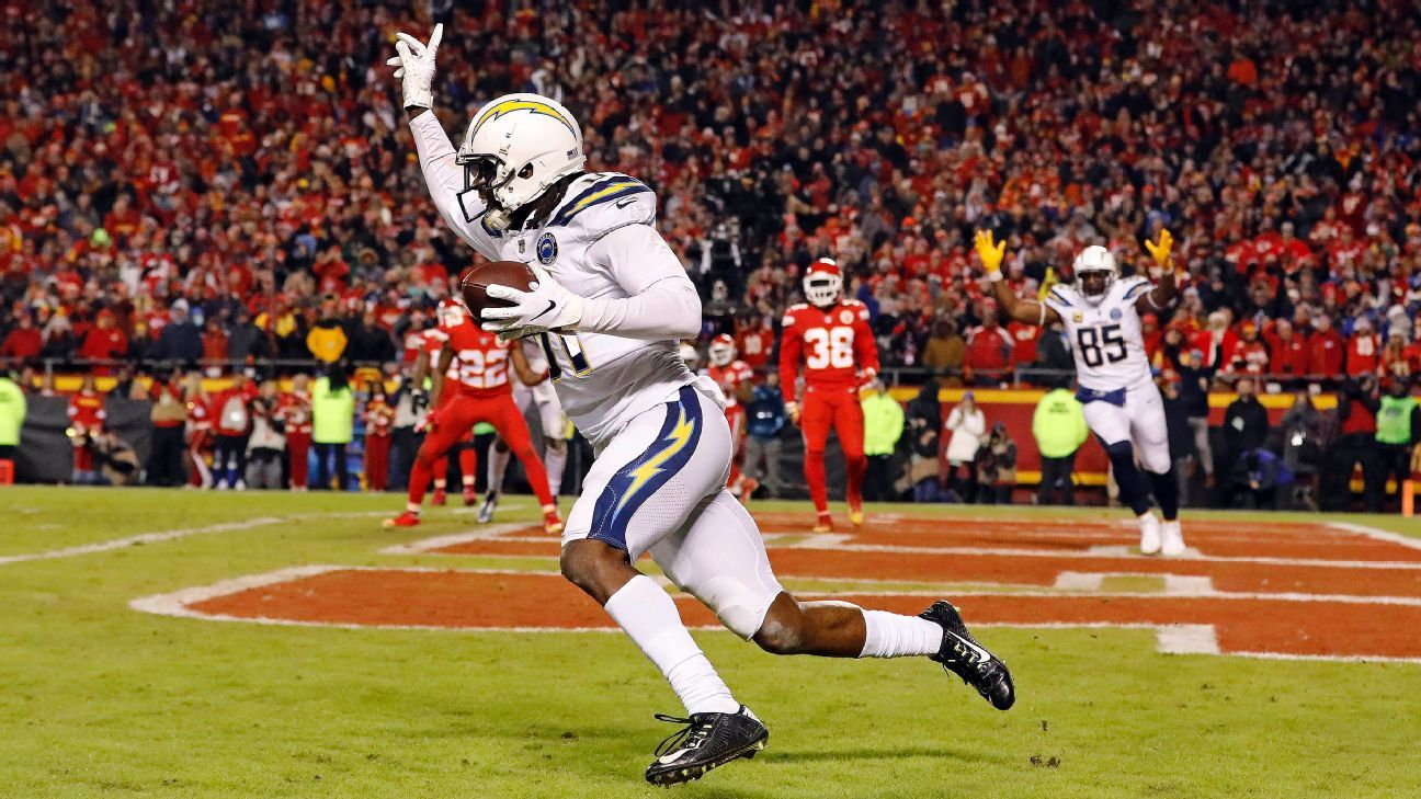 Two-point conversion propels Chargers into postseason - Los Angeles Chargers Blog- ESPN