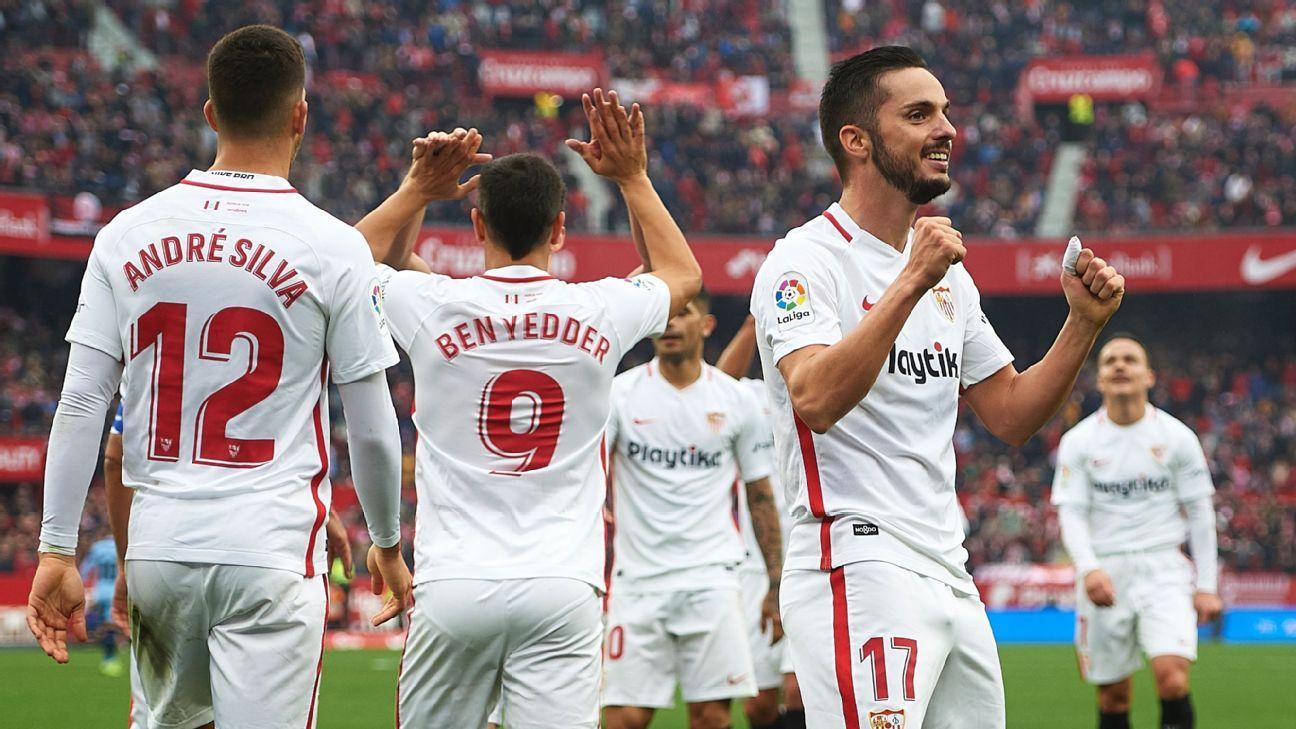 Sevilla FC vs. Girona - Football Match Report - December 16, 2018 - ESPN