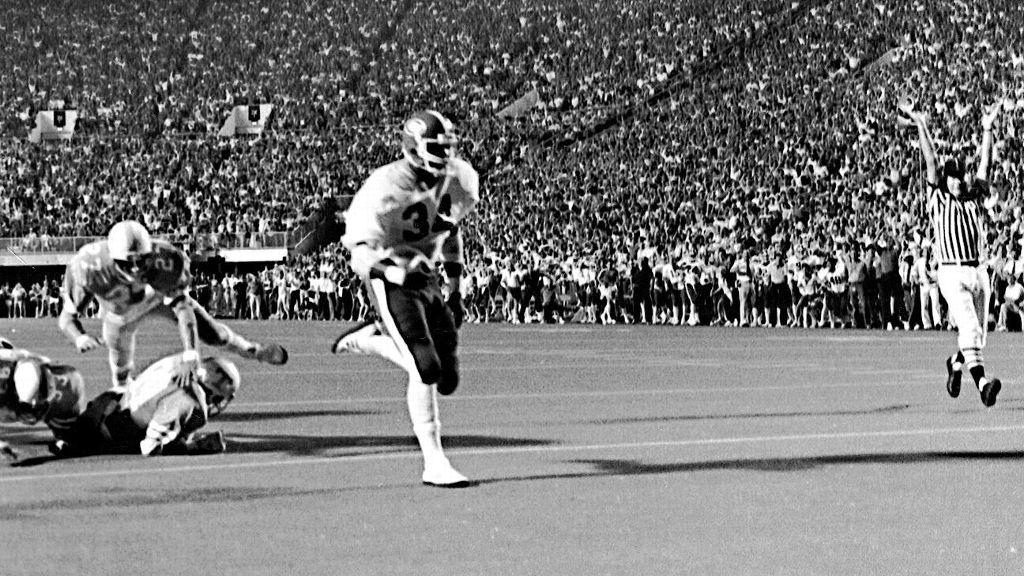 When Herschel Walker stormed college football