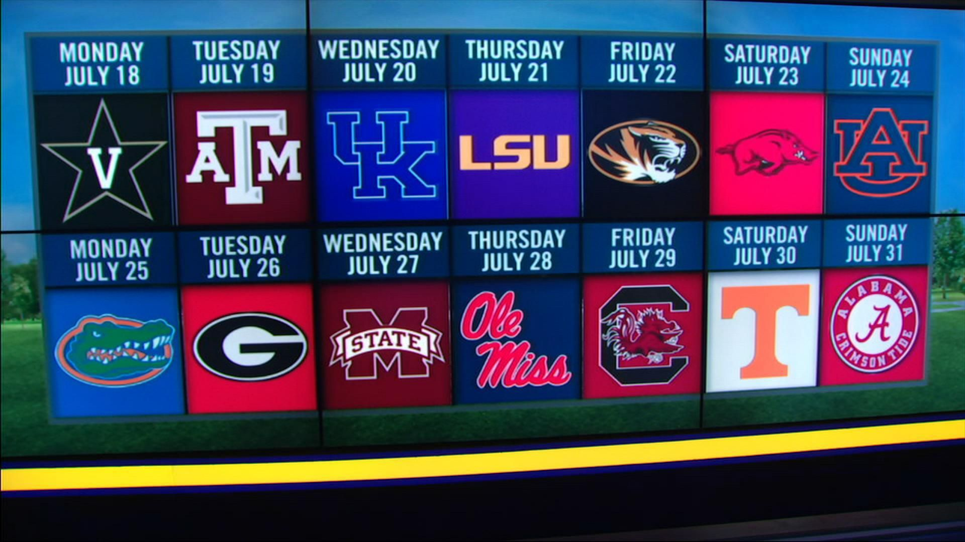 Schools take control of SEC Network programming in July