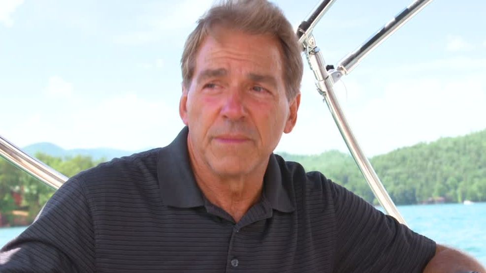 Life on the lake with Nick Saban