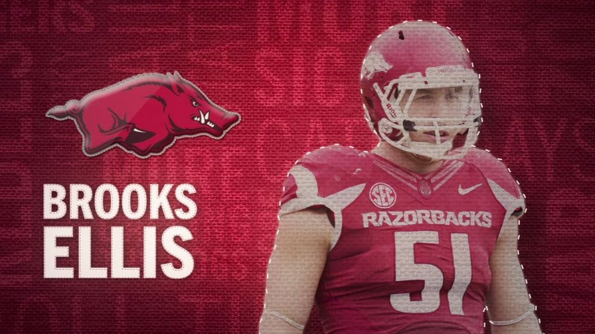 I am the SEC: Arkansas' Brooks Ellis