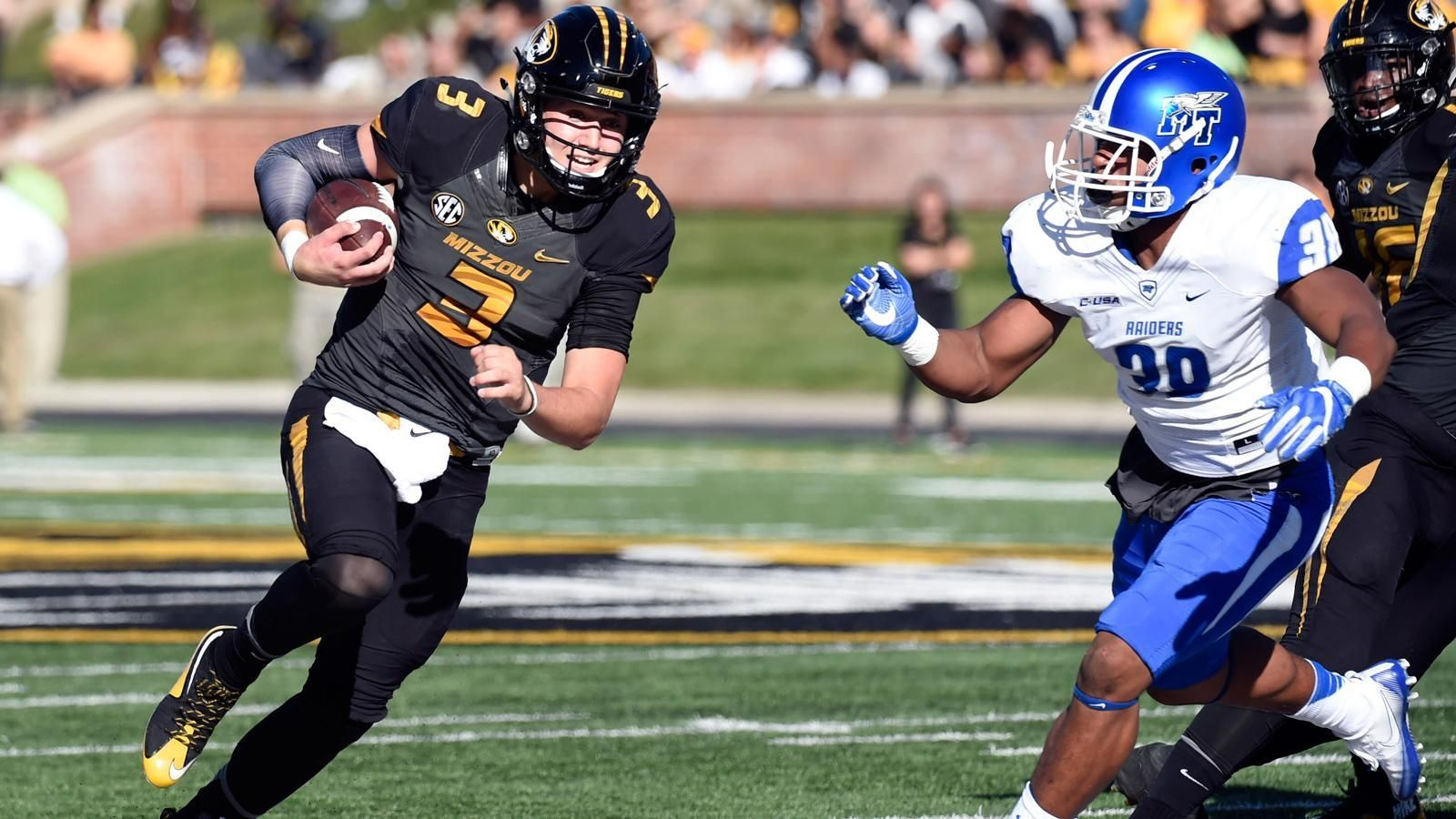Missouri falls to Middle Tennessee in offensive battle