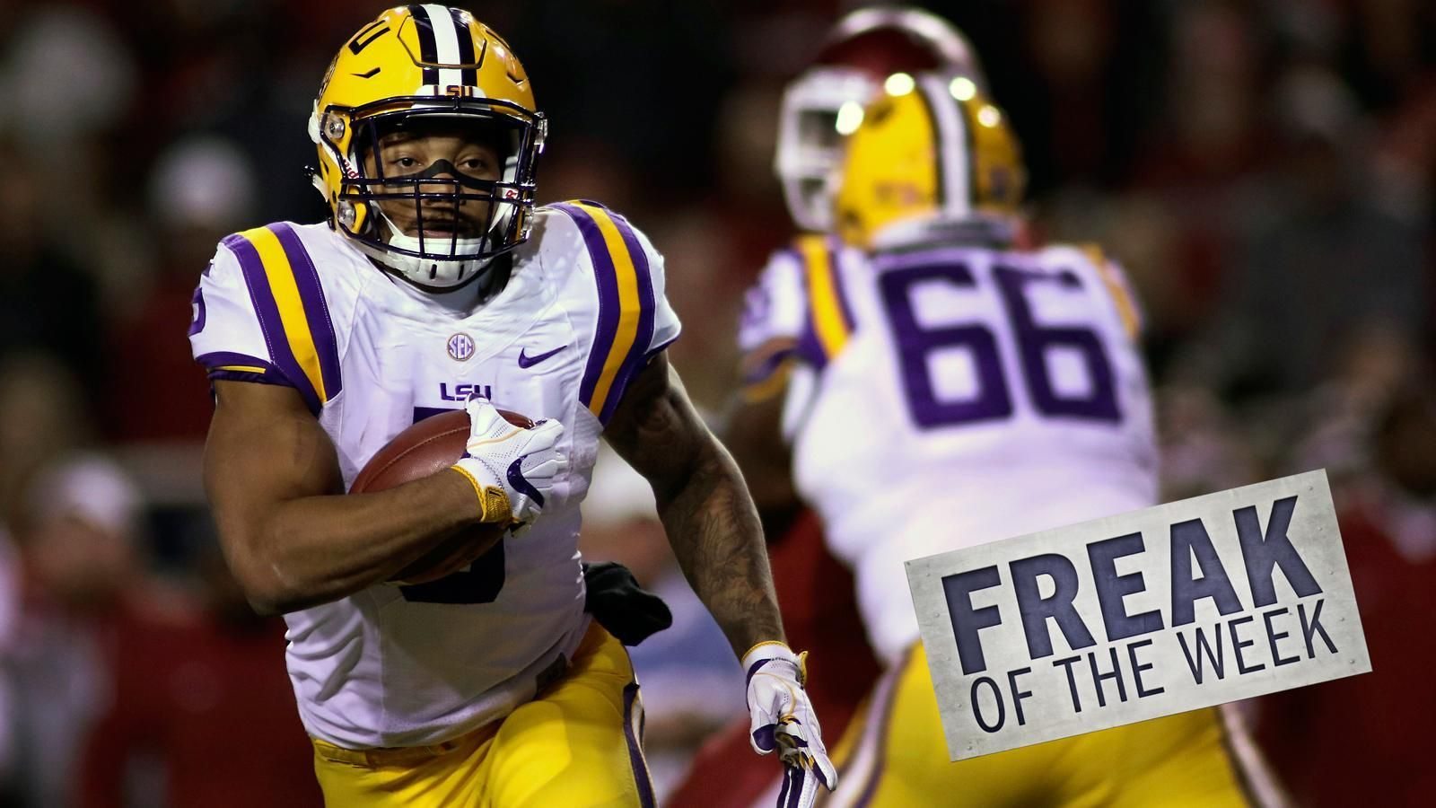 Tebow's Freak of the Week: Derrius Guice