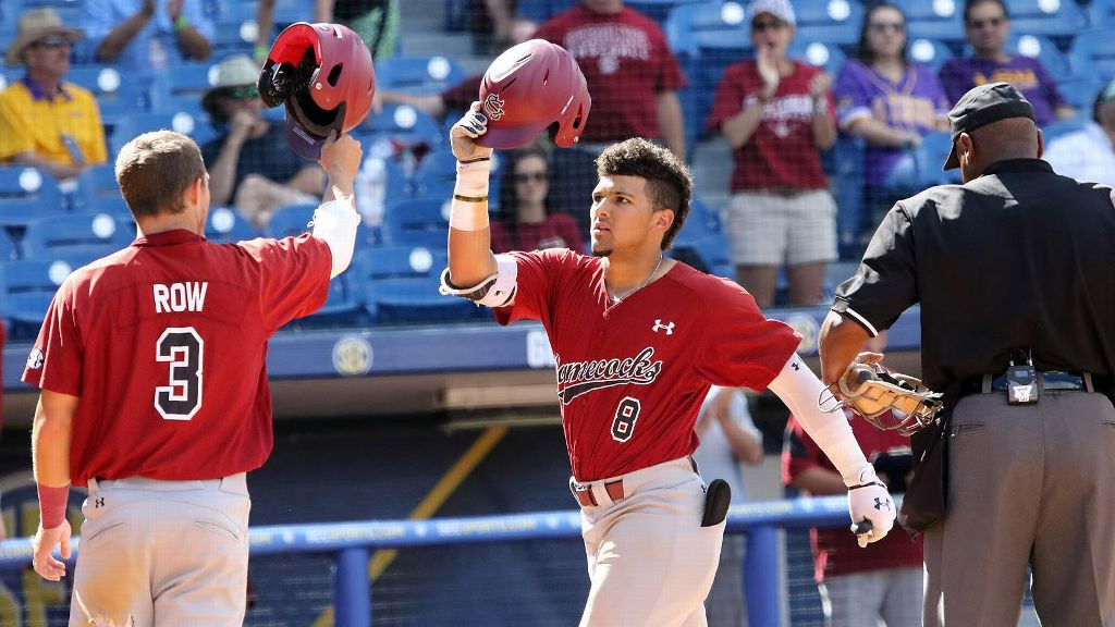 South Carolina's Cortes homers again