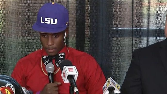 Terrace Marshall Jr. commits to LSU