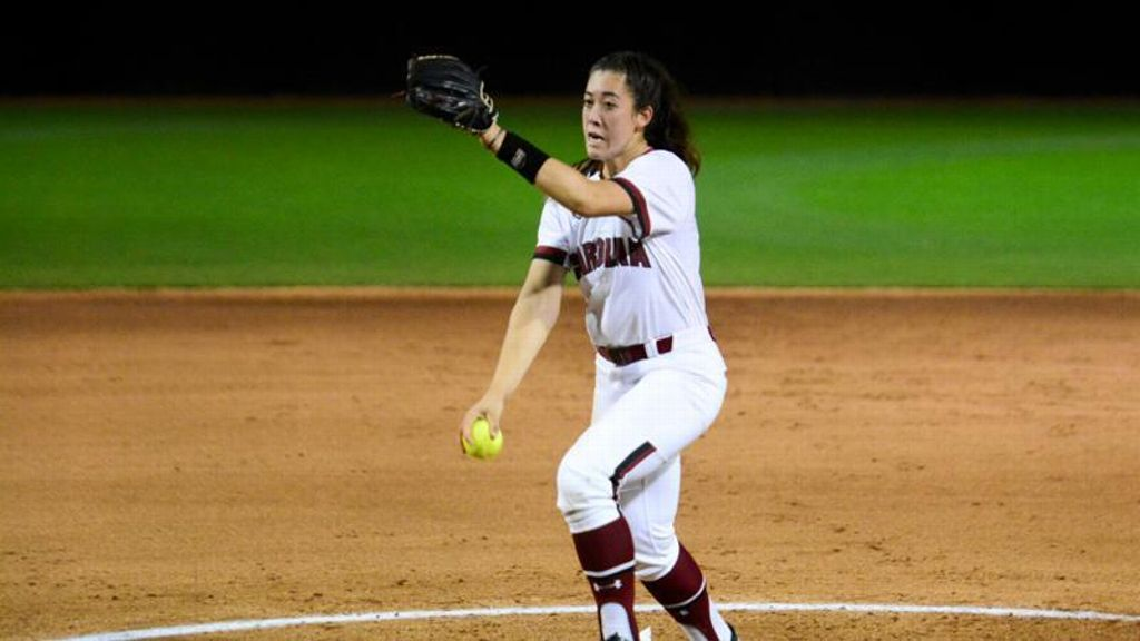 Strong pitching secures victory for Gamecocks