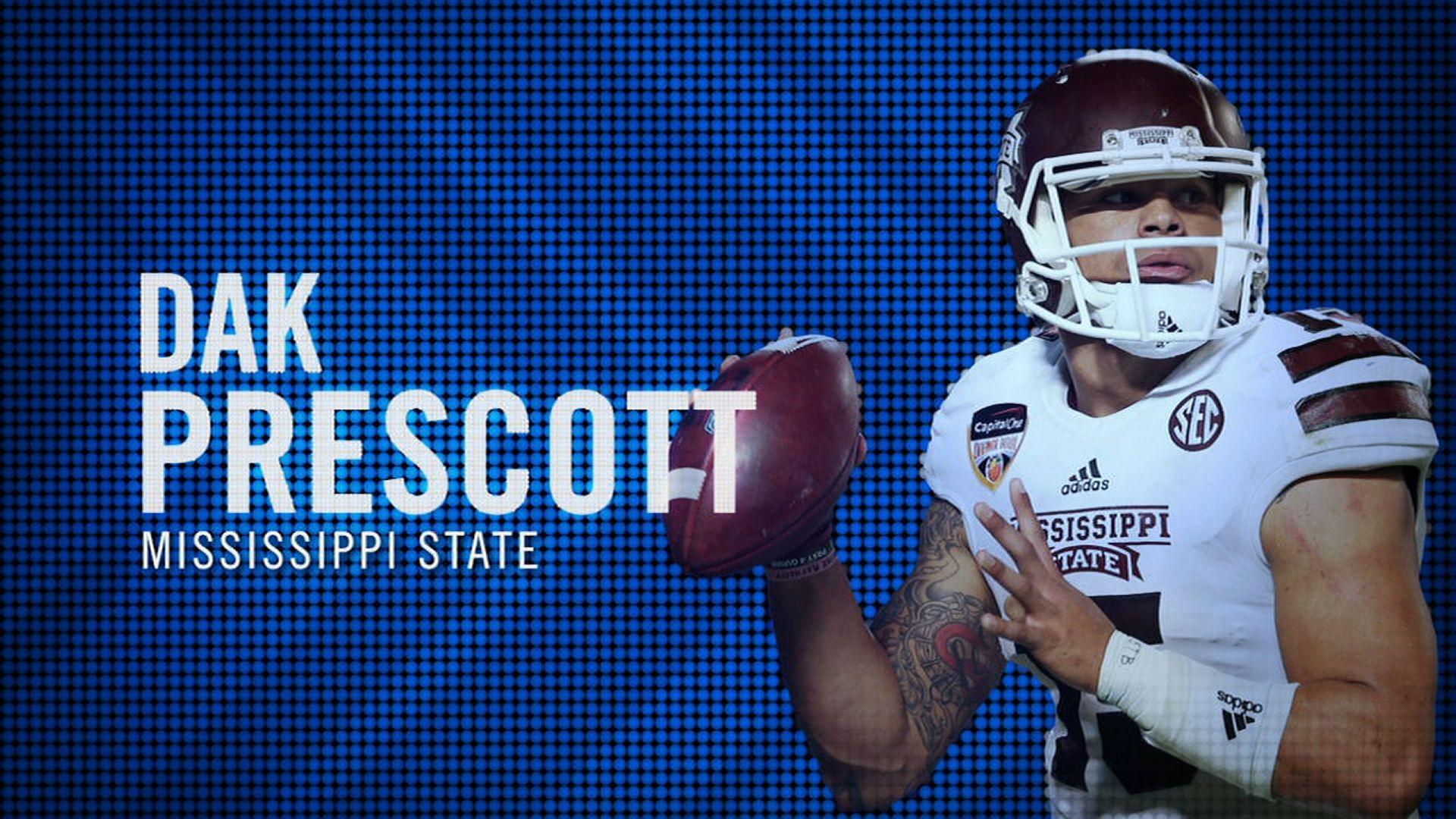 I am the SEC: Mississippi State's Dak Prescott