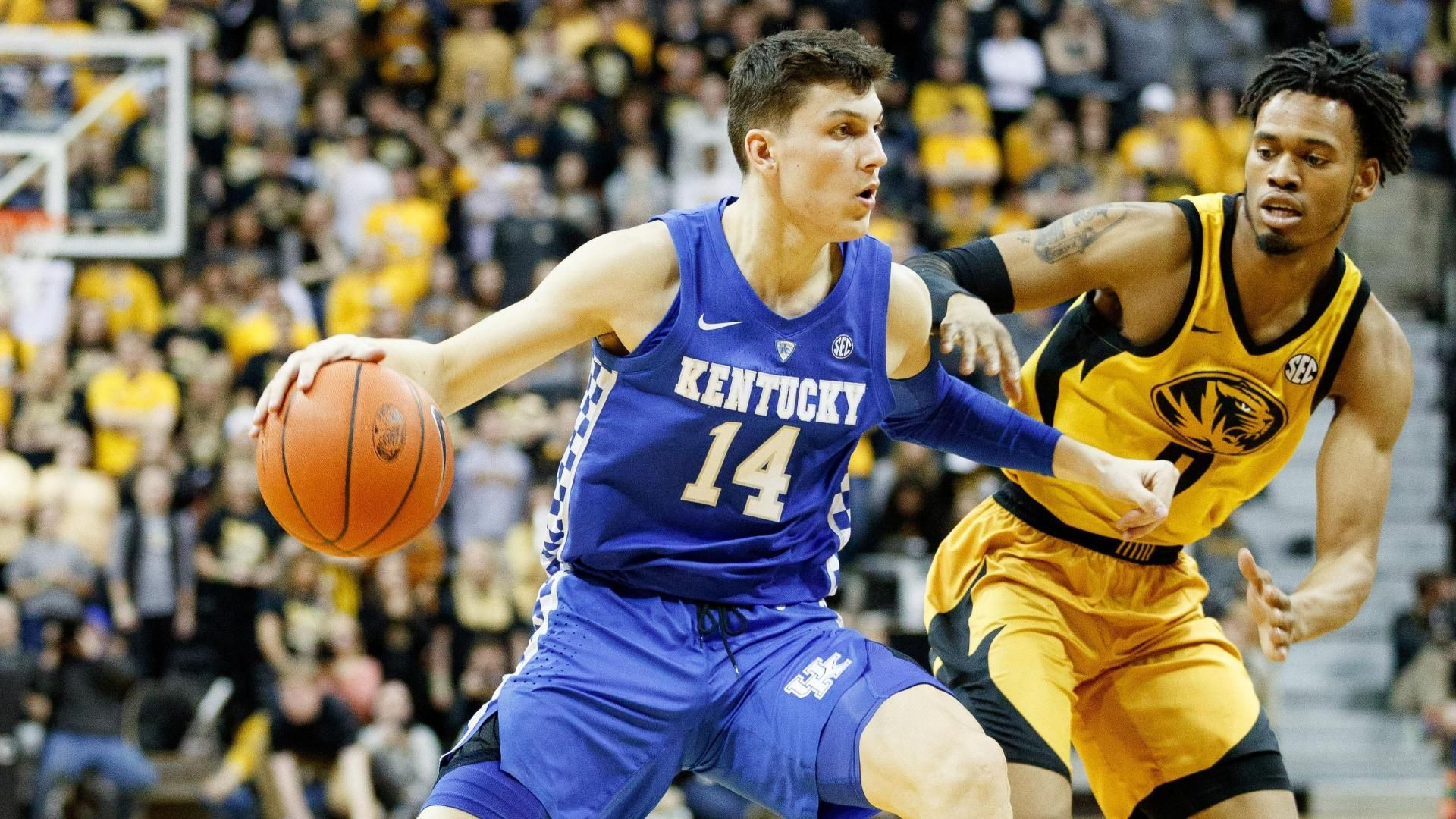 No. 4 UK holds off Mizzou