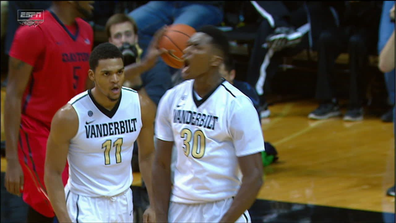 Damian Jones continues to show off in the paint, slams ...