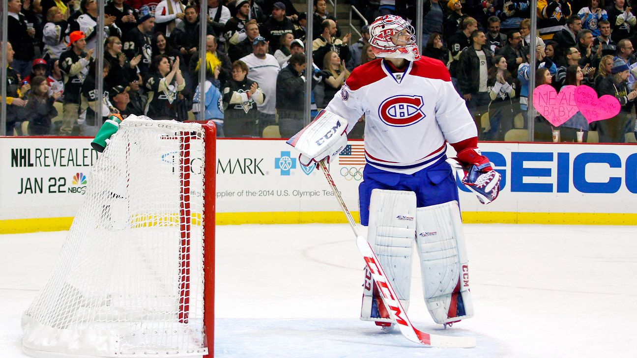 2014 NHL playoffs -- Carey Price of Montreal Canadiens out ...