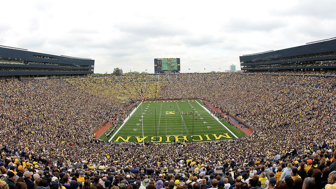Alcohol sales aren't planned at Michigan Stadium