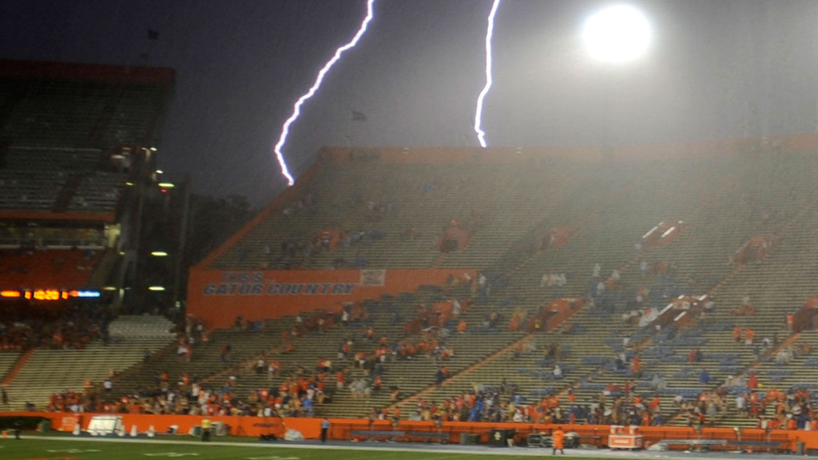 Florida Vs Idaho Game Suspended Due To Weather