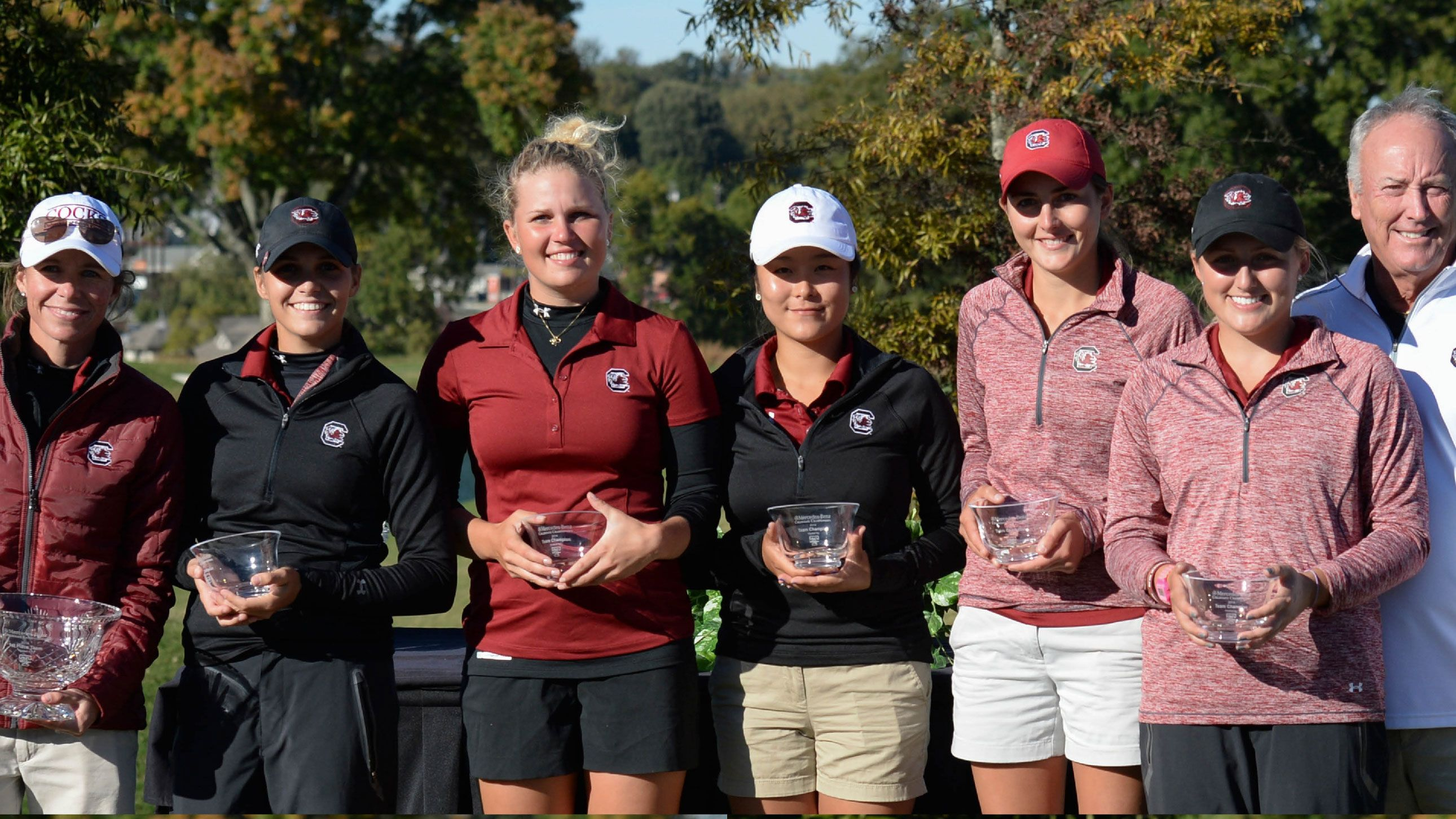 No. 2 Gamecocks win at Mercedez-Benz Collegiate