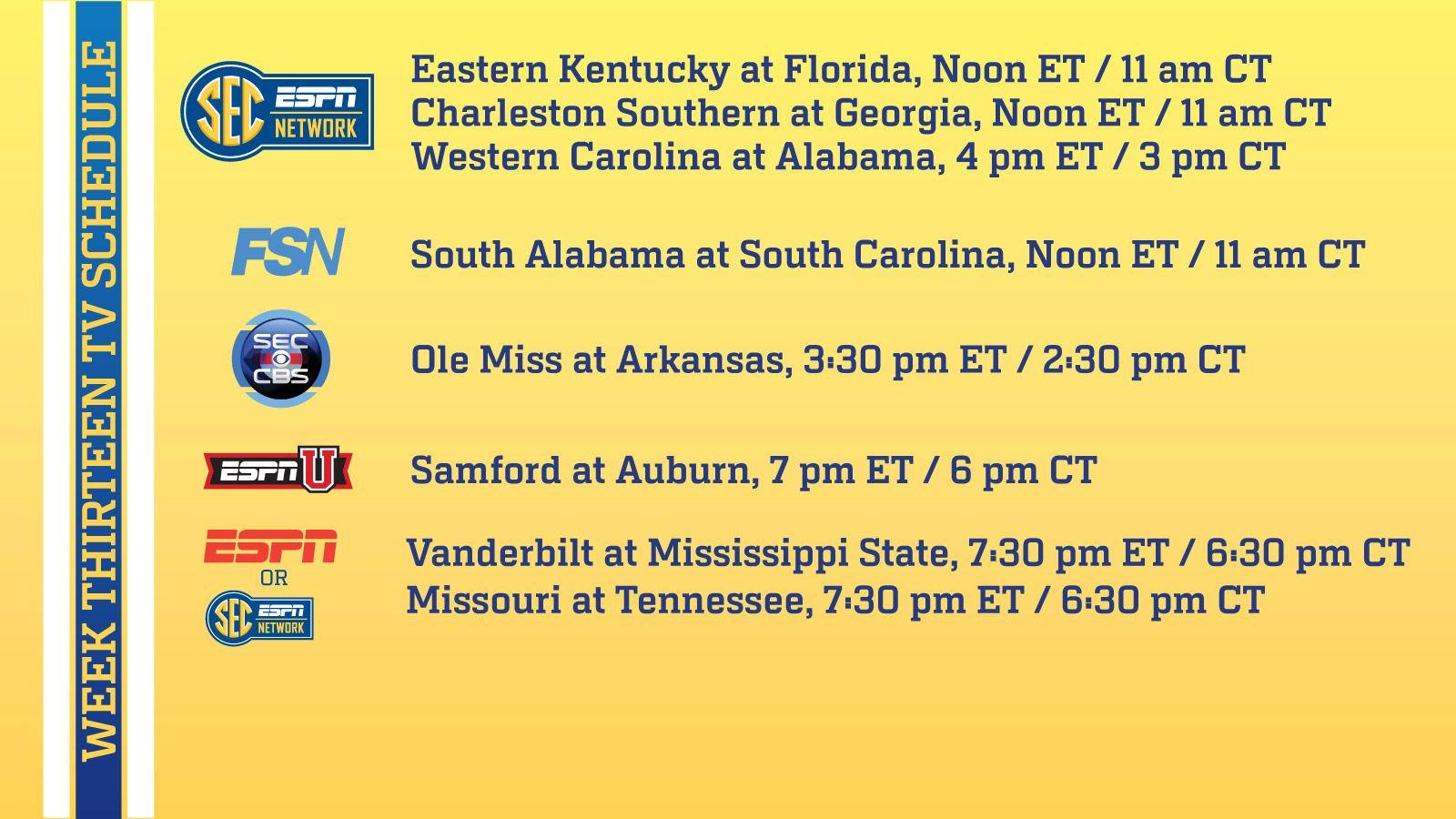 november 22 football schedule foorball on tv