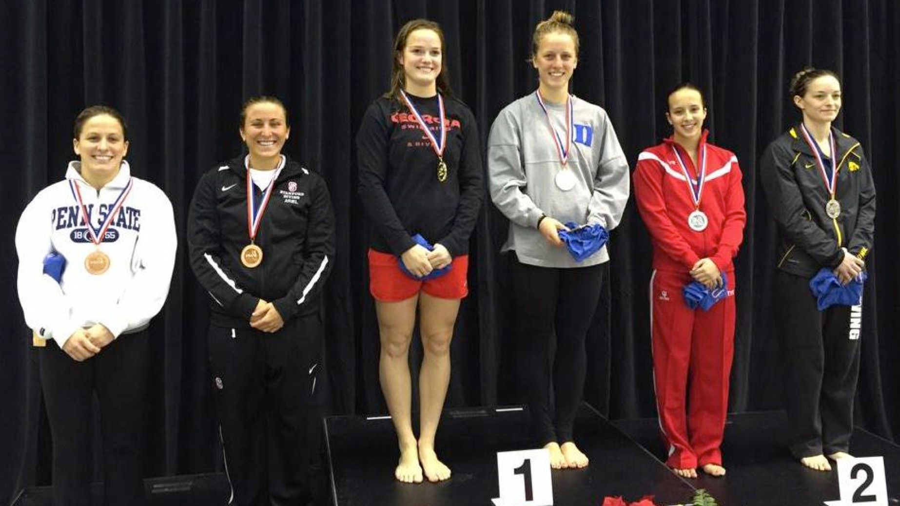 UGA's Ryan claims gold in 3-meter synchro