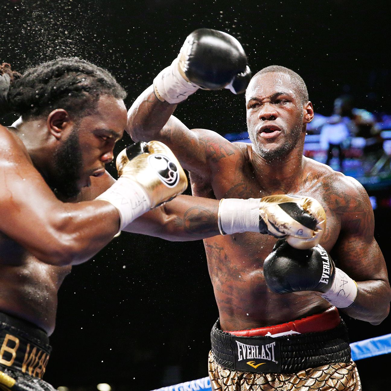 Deontay Wilder Happy To Defend Heavyweight Title At Home