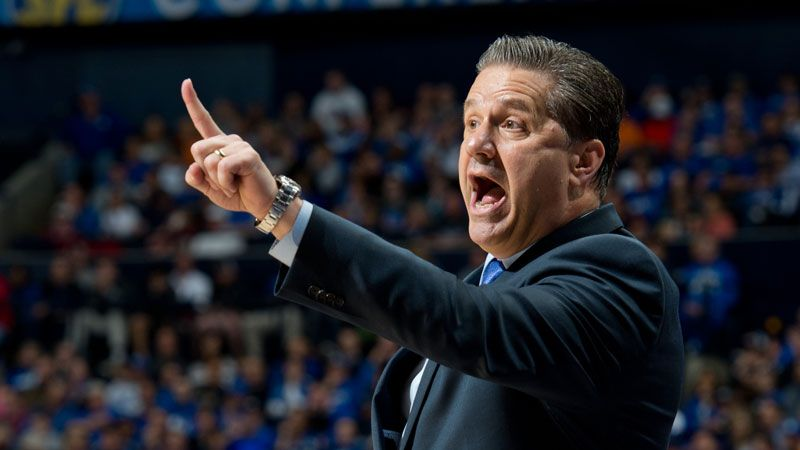 Calipari named NABC Coach of the Year