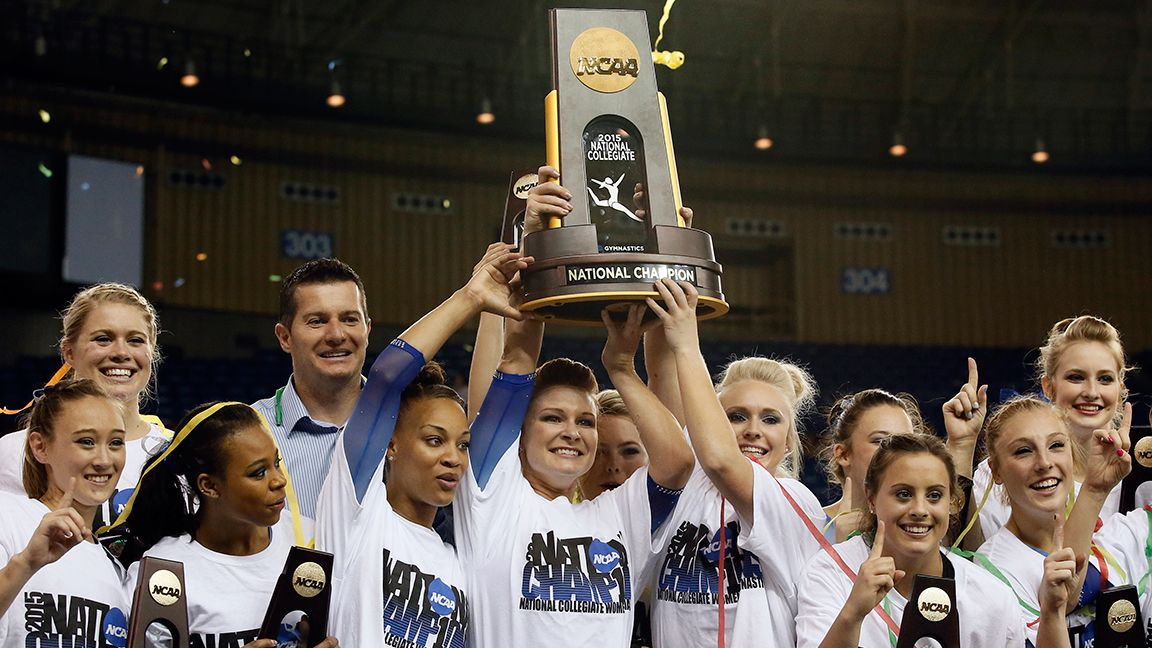 Florida wins NCAA Gymnastics Championship