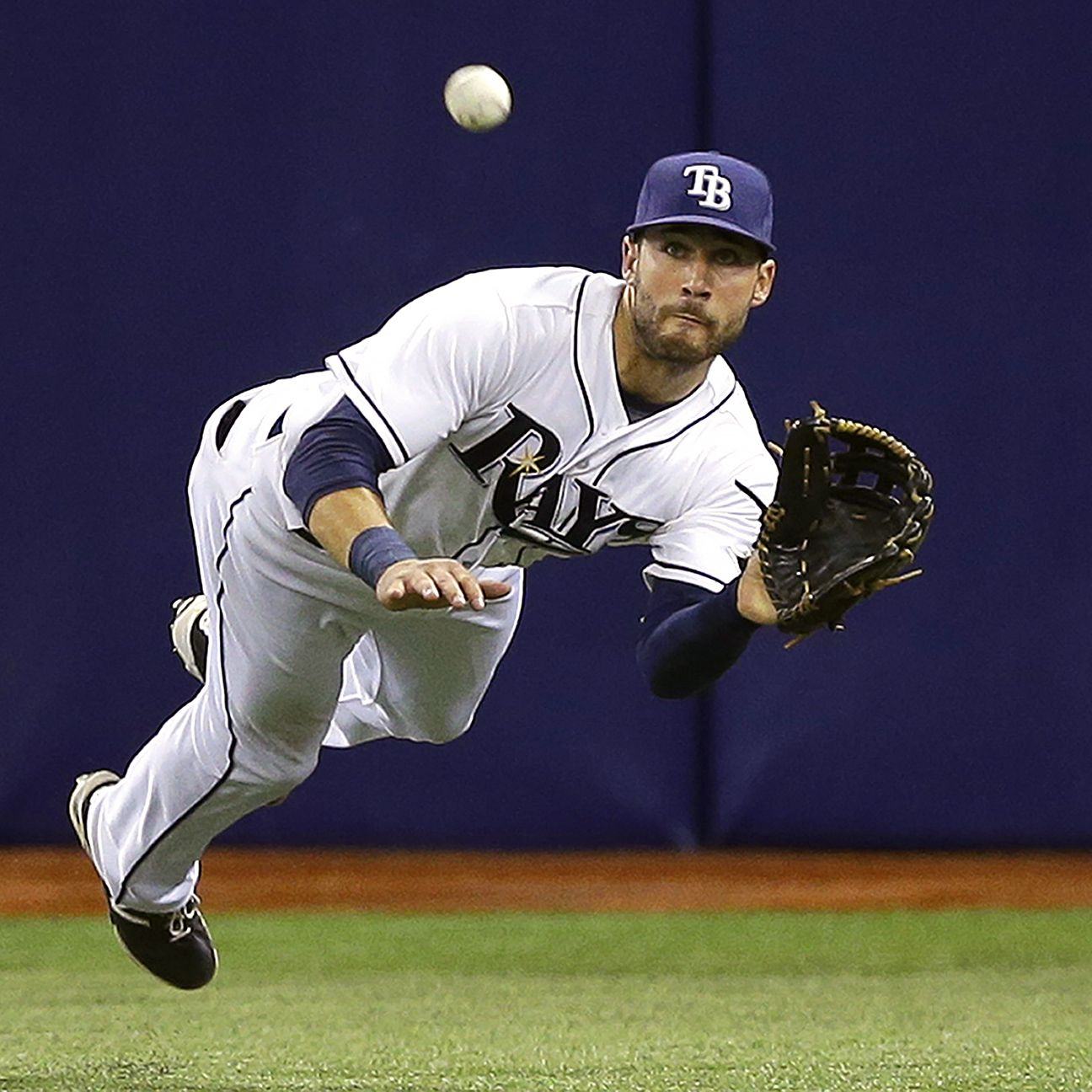 Tampa Bay Rays CF Kevin Kiermaier the best defensive ...