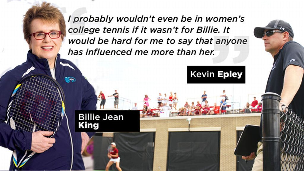 USC coach influenced by Billie Jean King