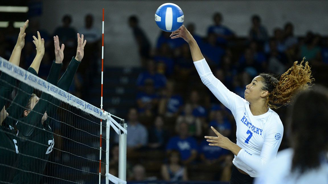Middle blockers lead Cats to sweep of IUPUI