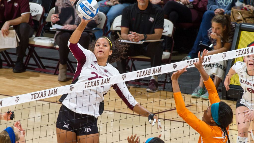 Jazzmin Babers named Volleyball Player of the Week