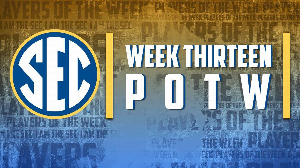 Week 13 Players of the Week