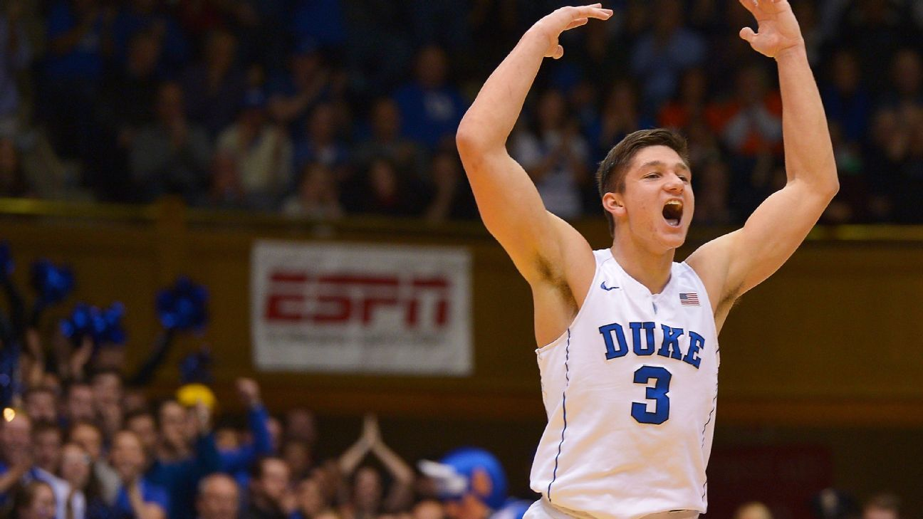 Grayson Allen and being a hated white player with the Duke Blue Devils