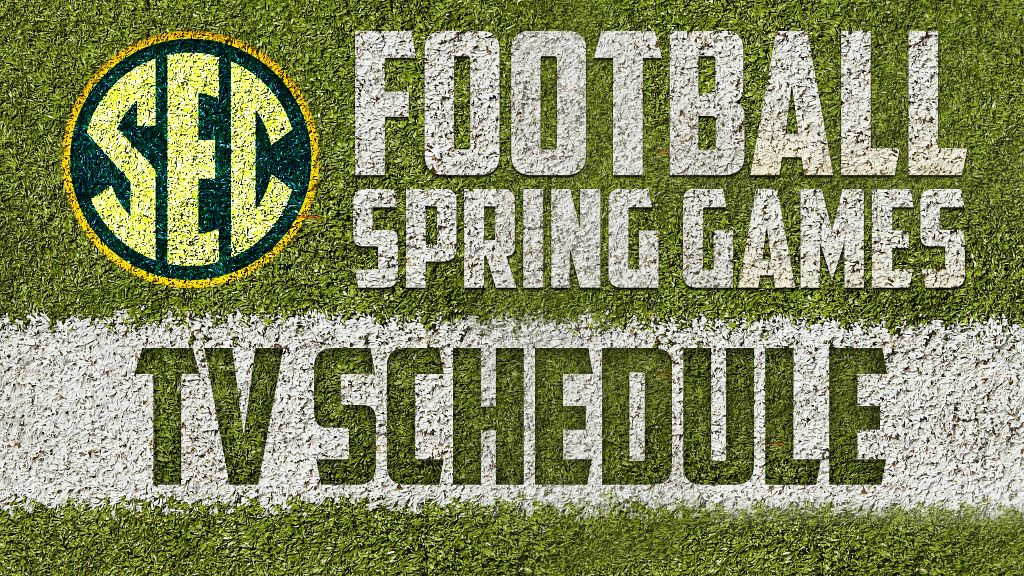 Every 2018 SEC spring football game to be televised