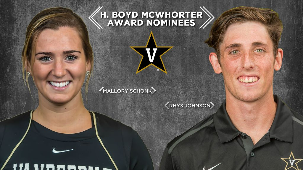 Vanderbilt nominees for McWhorter scholarship announced