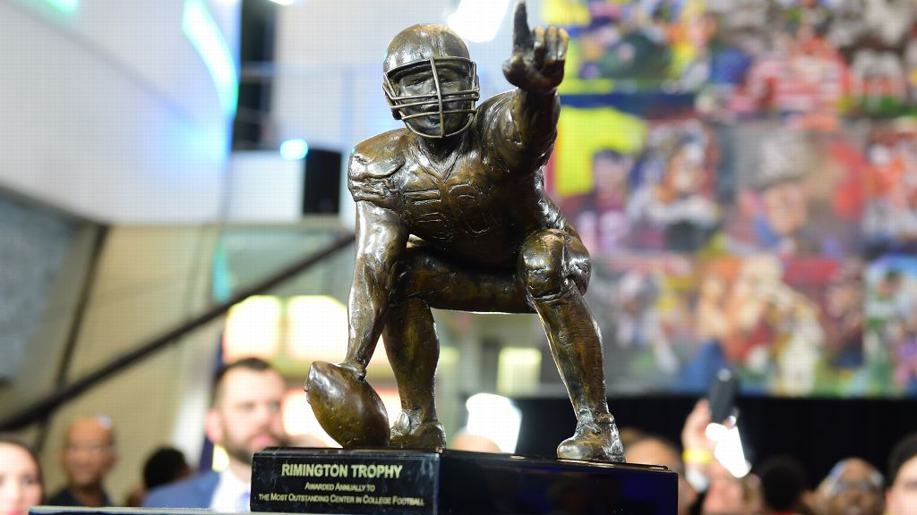 Rimington Trophy watch list includes eight from SEC
