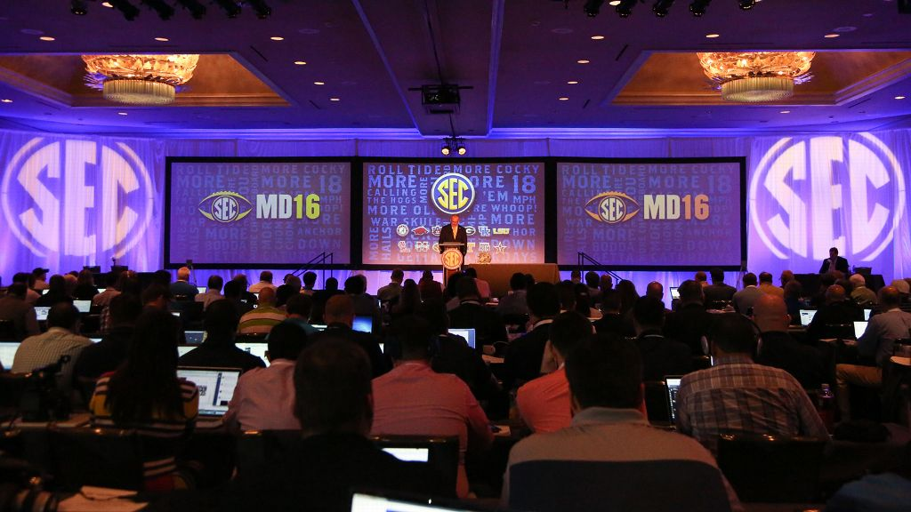 2016 SEC Media Days Central