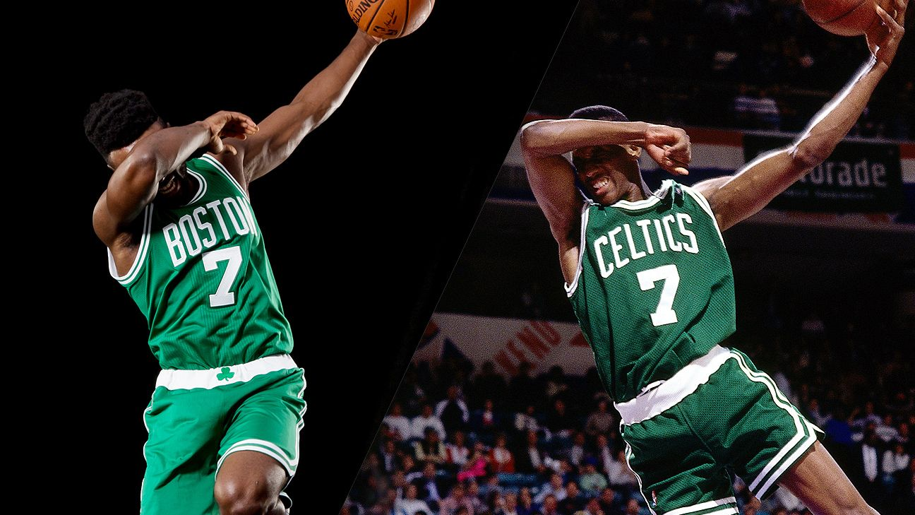 Snapshot: Boston Celtics' Jaylen Brown pays homage to Dee ...