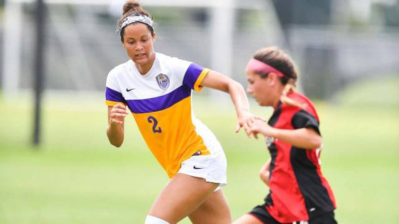 Carvery's first career goal hands LSU first win