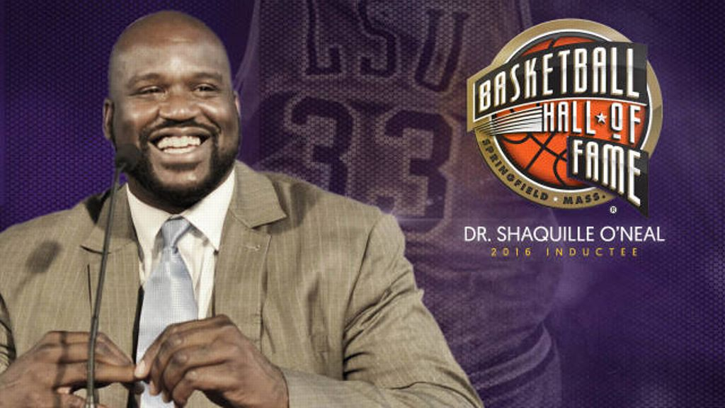 Shaq set to be inducted in Naismith Basketball HOF