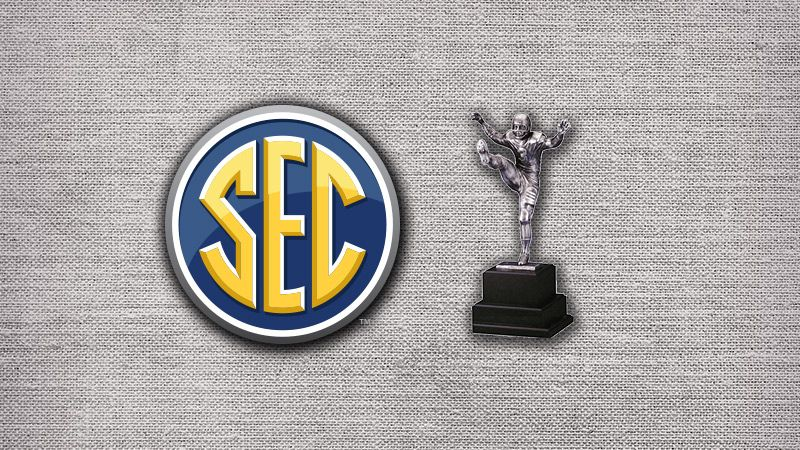 SEC lands nine semifinalists for 2016 Campbell Trophy