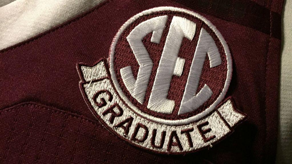 SEC graduate patch recognizes academic achievement