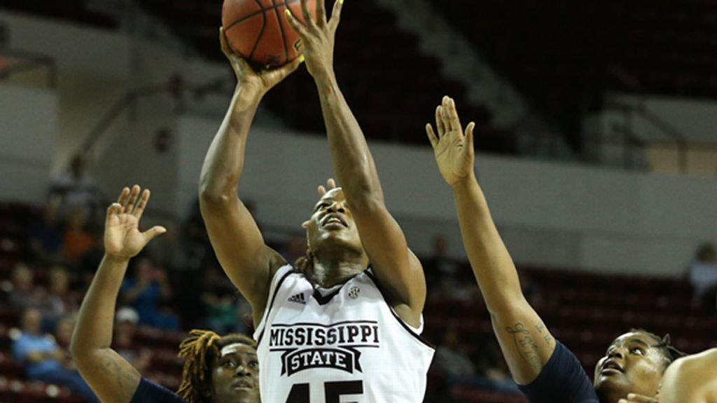 No. 7 Mississippi State takes down Hawaii 66-41