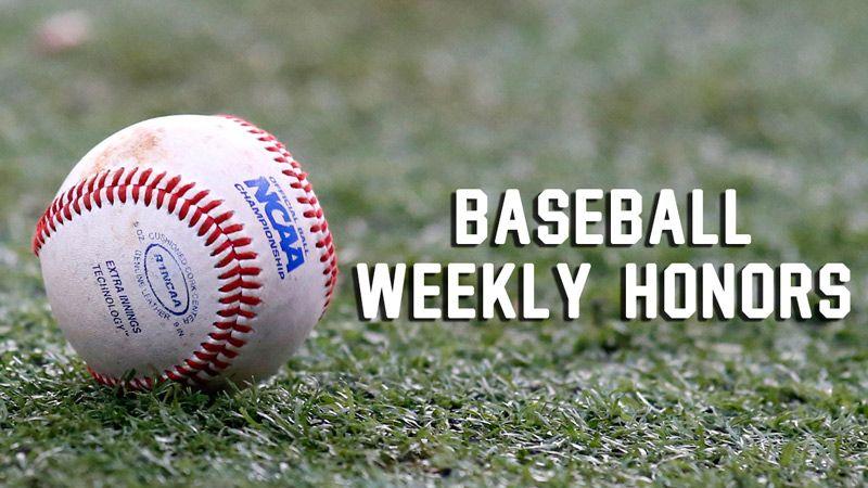 Week 1: Baseball Players of the Week