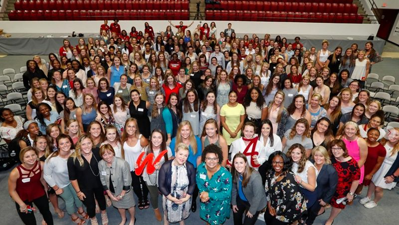 Alabama hosts espnW Campus Conversations event
