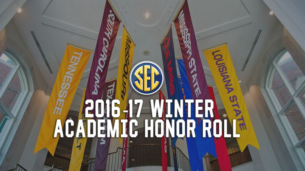 2016-17 Winter SEC Academic Honor Roll