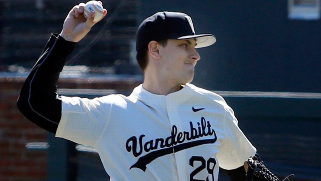 Raby's pitching carries Vandy to win over UGA
