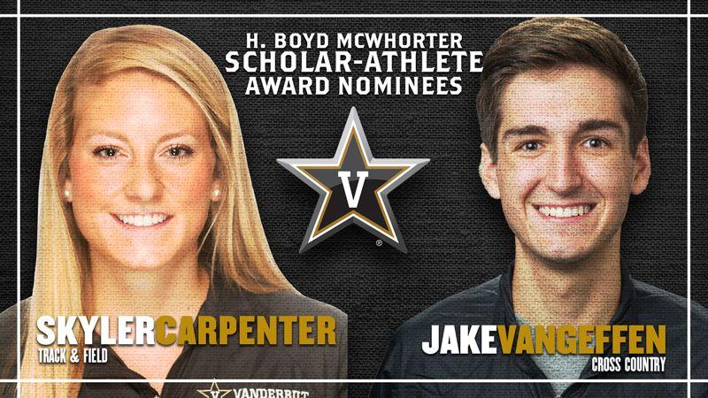 Vanderbilt nominees for McWhorter scholarships