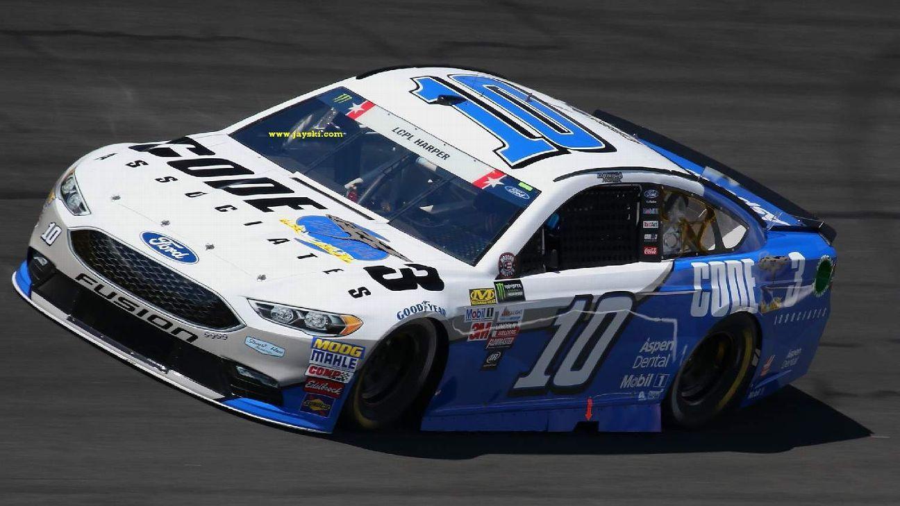 2017 NASCAR Cup Series Paint Schemes - Team #10 Stewart ...