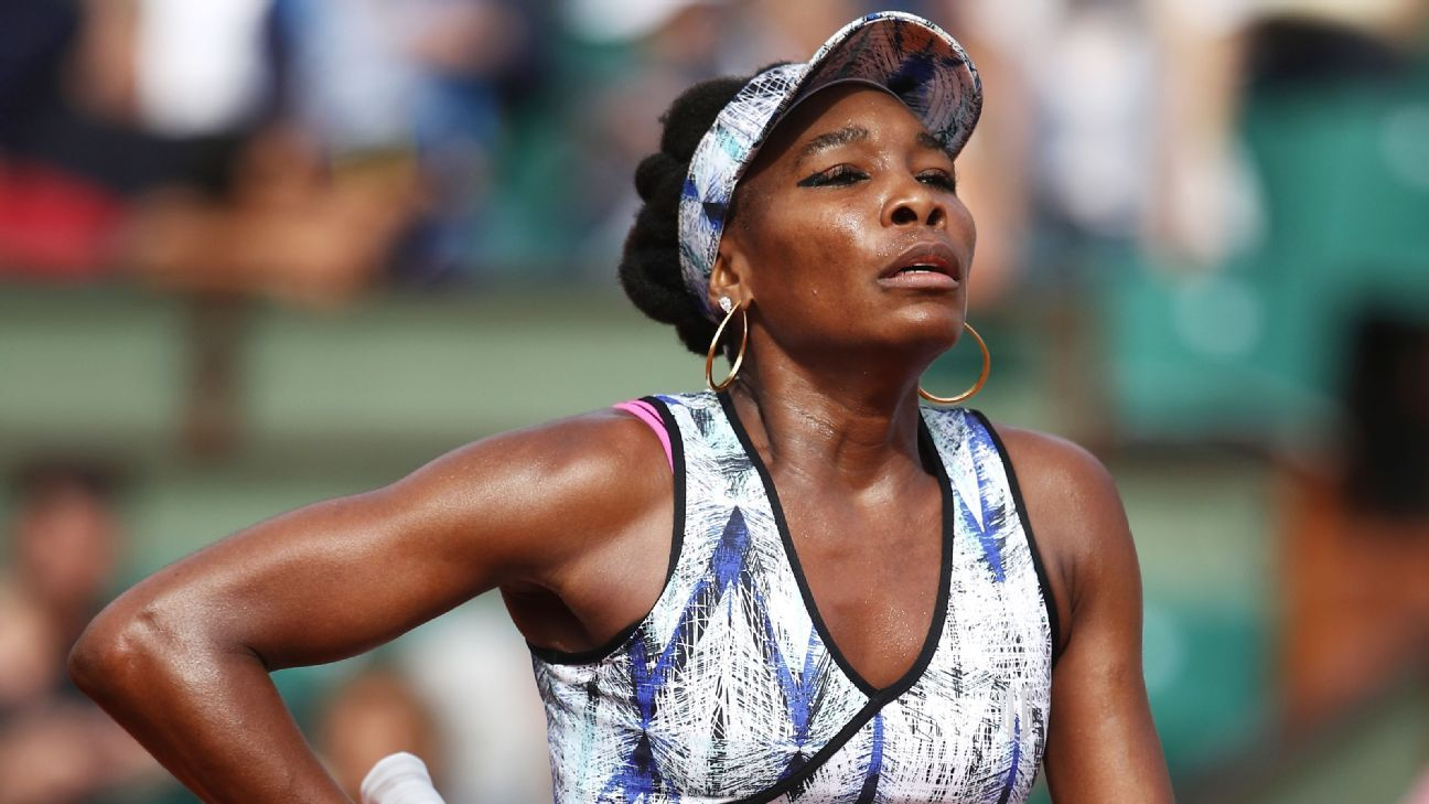 venus williams only looking forward after french open loss