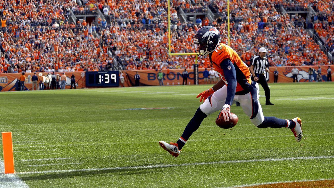 Denver Broncos eye toll of injuries to Emmanuel Sanders Isaiah